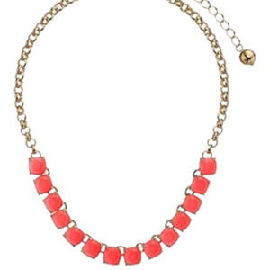 Kate Spade Geranium Squared Away Necklace